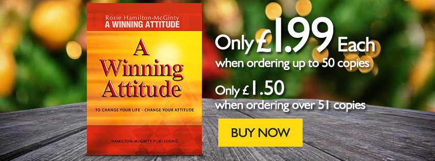 A Winning Attitude - Only £1.99 Each